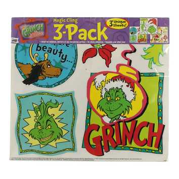 How the Grinch Stole Christmas Magic Cling 3-Pack for Sale on Swap.com