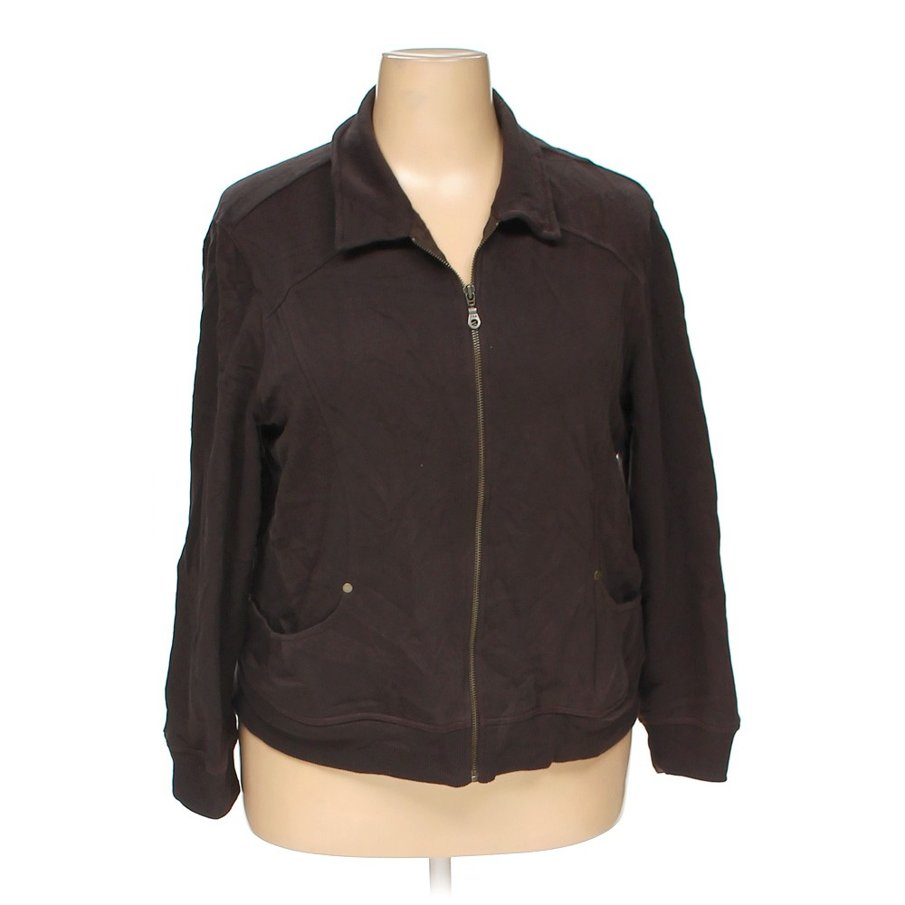 Brown Cato Jacket in size 18 at up to 95% Off - Swap.com