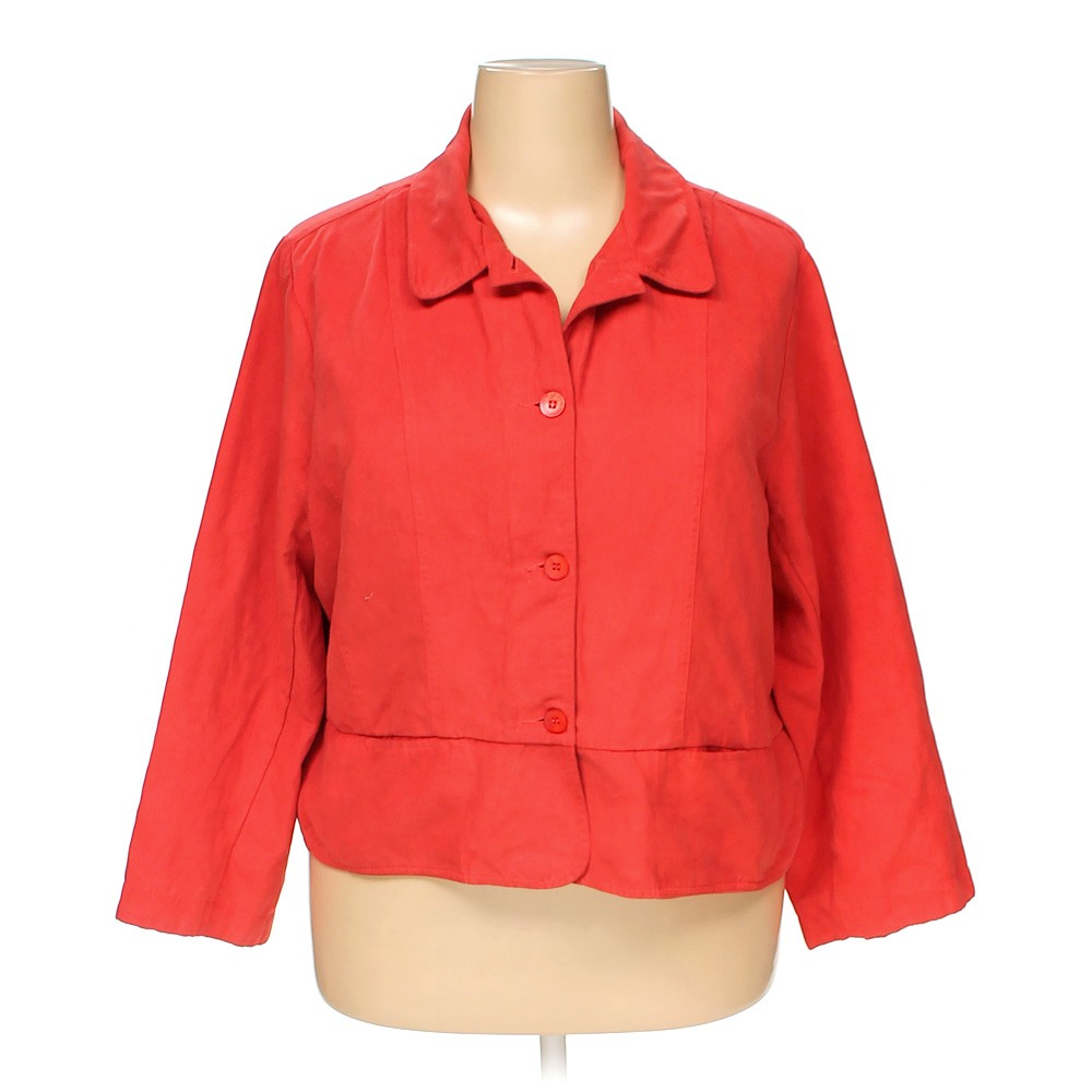 Red Cato Jacket in size 22 at up to 95% Off - Swap.com
