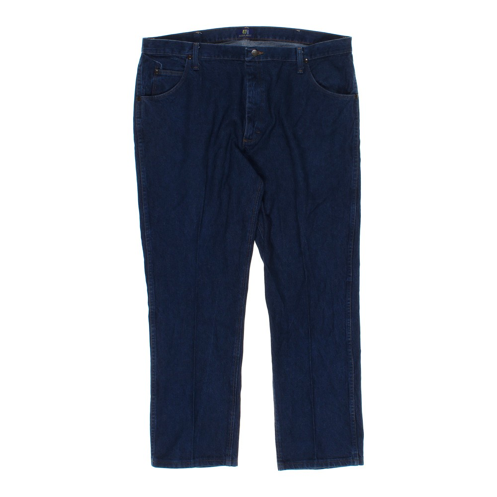 """American Eagle Credit Card Login >> Blue/Navy Wrangler Jeans in size 42"""" Waist at up to 95% ..."""