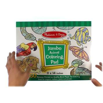 Jumbo Coloring Pad - Animals for Sale on Swap.com