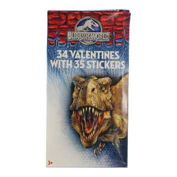 Jurassic World Valentine Cards for Sale on Swap.com