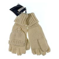 Knitting Pattern For Fold Over Mittens : West Loop Knit Fingerless Gloves With Fold Over at up to ...