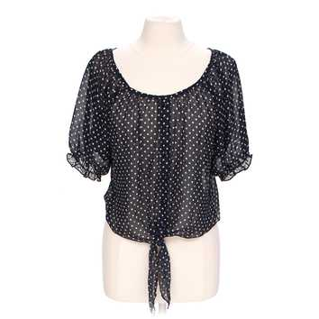 Layering Cropped Polka Dot Blouse for Sale on Swap.com