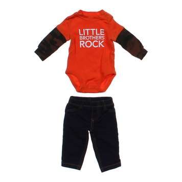 """Little Brothers Rock"" Outfit for Sale on Swap.com"