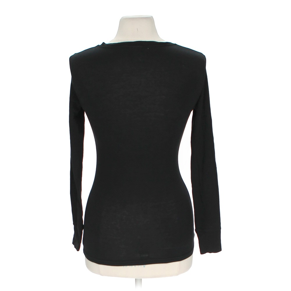 Black La Senza Long Sleeve Shirt In Size S At Up To 95