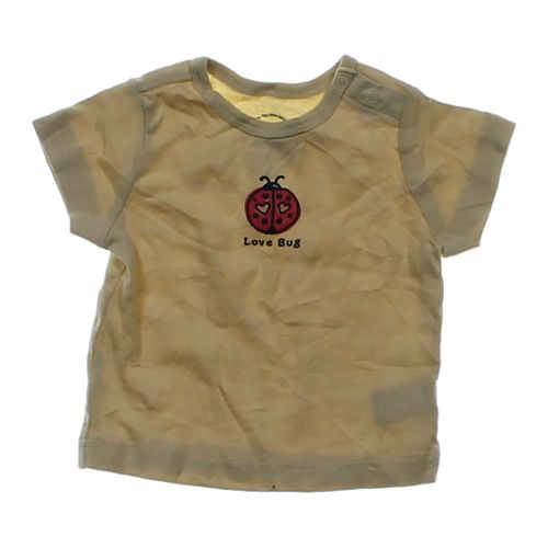 Yellow good kids love bug t shirt in size 3 mo at up to for I like insects shirt