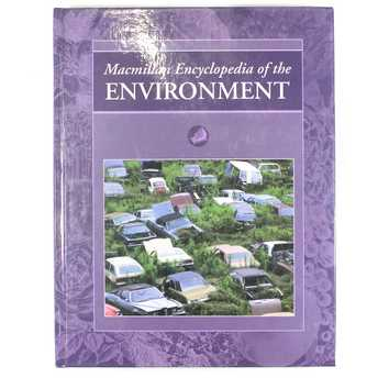 Macmillan Encyclopedia of the Enviroment for Sale on Swap.com