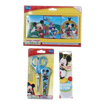 Mickey Mouse Crayons & Scissors Set for Sale on Swap.com