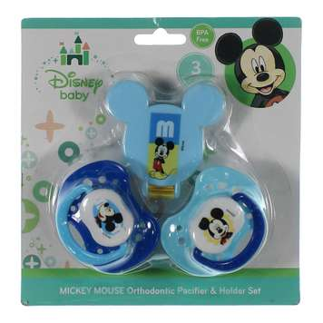 "Minnie Mouse ""Little Sweetie"" Pacifier & Clip 3-Pack for Sale on Swap.com"