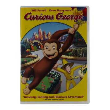 Movie: Curious George (Widescreen Edition) for Sale on Swap.com