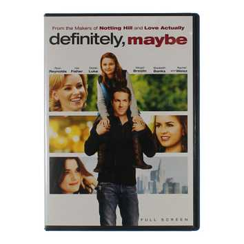 Movie: Definitely Maybe (Full Screen) for Sale on Swap.com
