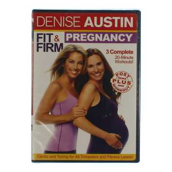 Movie: Denise Austin: Fit & Firm Pregnancy for Sale on Swap.com