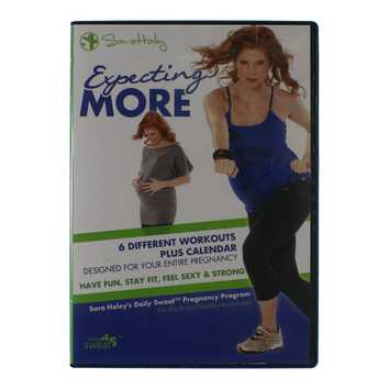 Movie: Expecting More - Sara Haley's Daily Sweat Pregnancy Program for Sale on Swap.com