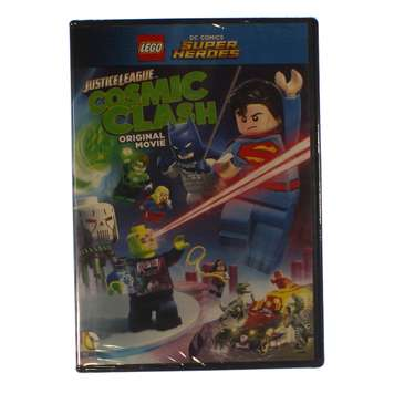 Movie: LEGO DC Comics Super Heroes: Justice League - Cosmic Clash (DVD) for Sale on Swap.com