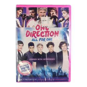 Movie: One Direction: All For One for Sale on Swap.com