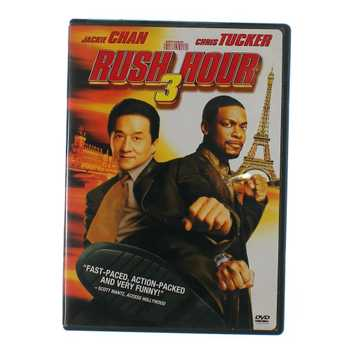 Movie: Rush Hour 3 (Widescreen and Full-Screen) for Sale on Swap.com