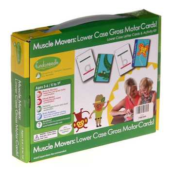 Muscle Movers: Lower Case Gross Motor Cards! for Sale on Swap.com