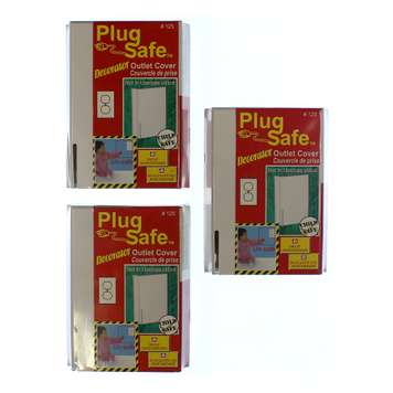 Outlet Cover Plug Safe Decorator Set for Sale on Swap.com