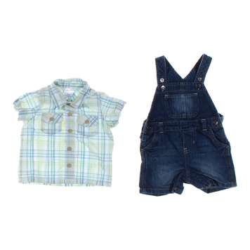 Overalls & Shirt Set for Sale on Swap.com