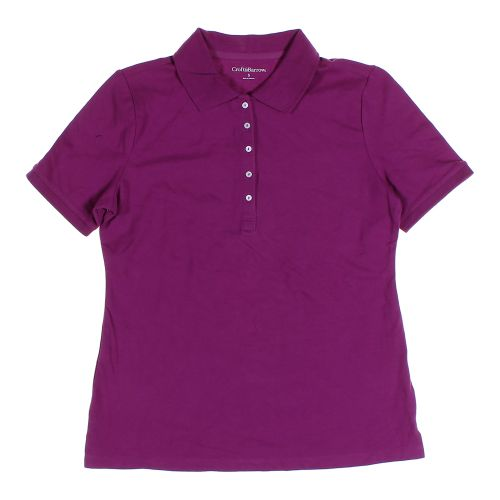 Purple croft barrow polo shirt in size s at up to 95 for Croft and barrow womens polo shirts