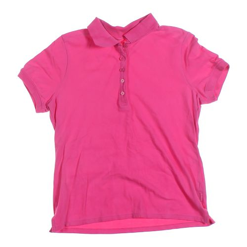pink liz claiborne polo shirt in size l at up to 95 off