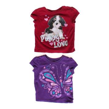 Puppy & Butterfly Tee Set for Sale on Swap.com