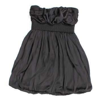 Ruffled Strapless Dress for Sale on Swap.com