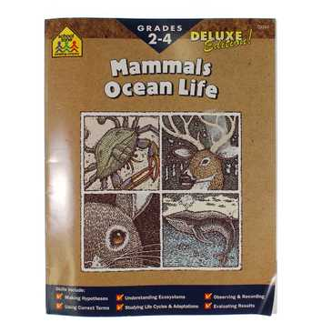 School Zone: Mammals Ocean Life Workbook for Sale on Swap.com