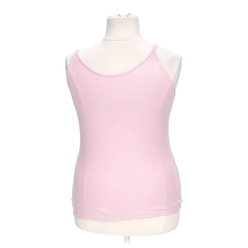 Pink Faded Glory Sheeny Tank Top In Size Xl At Up To 95