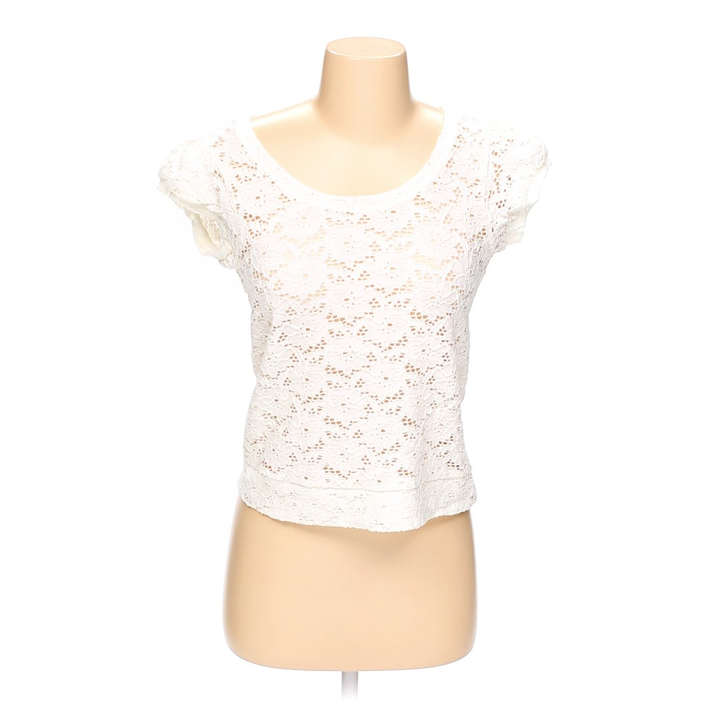 White sound matter sheer shirt in size s at up to 95 for How to hand wash white shirt
