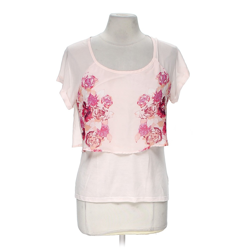 Pink American Eagle Outfitters Shirt In Size M At Up To 95