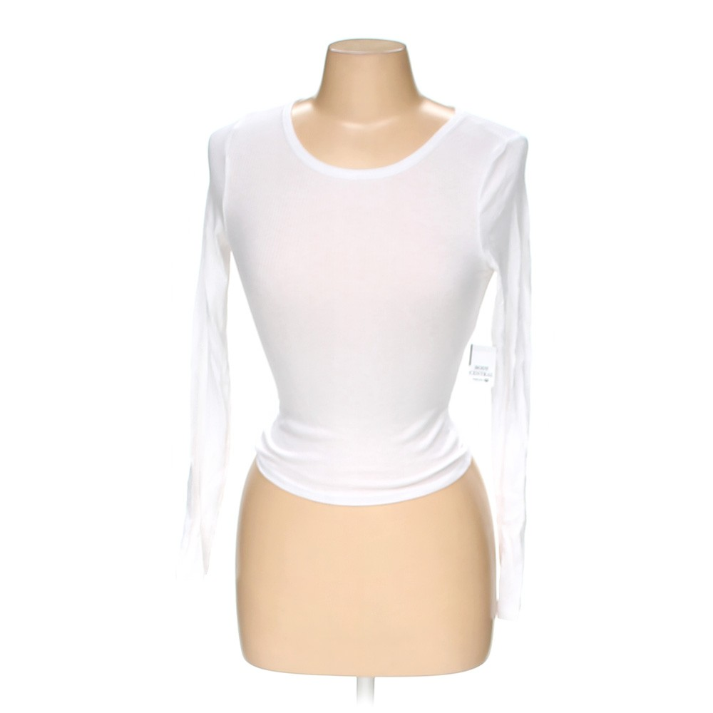 White body central shirt in size m at up to 95 off for How to hand wash white shirt