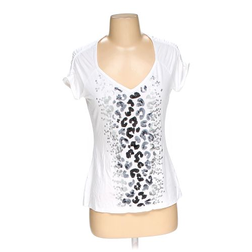 White cache shirt in size s at up to 95 off for How to hand wash white shirt