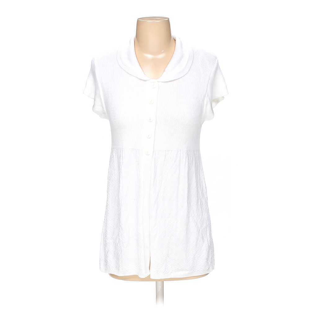 White cotton emporium shirt in size s at up to 95 off for How to hand wash white shirt