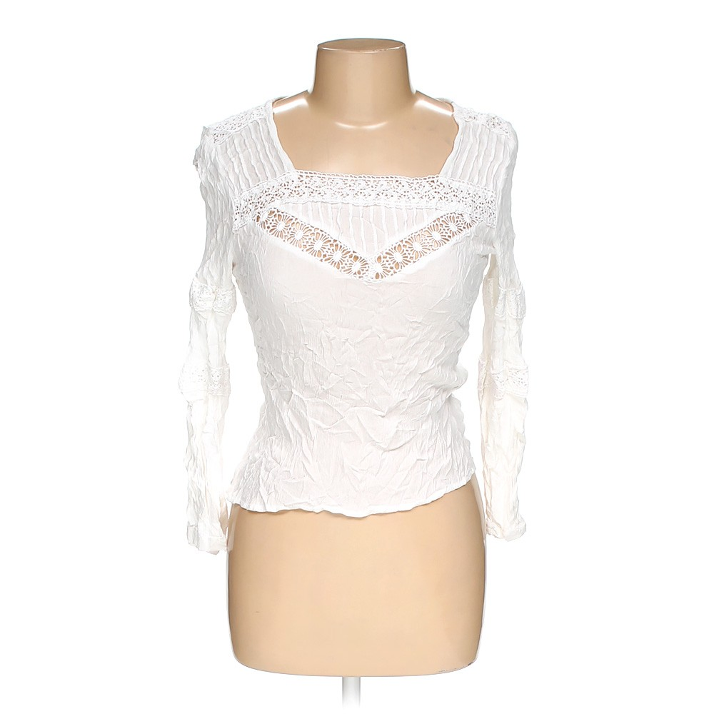 White doe roe shirt in size l at up to 95 off for How to hand wash white shirt
