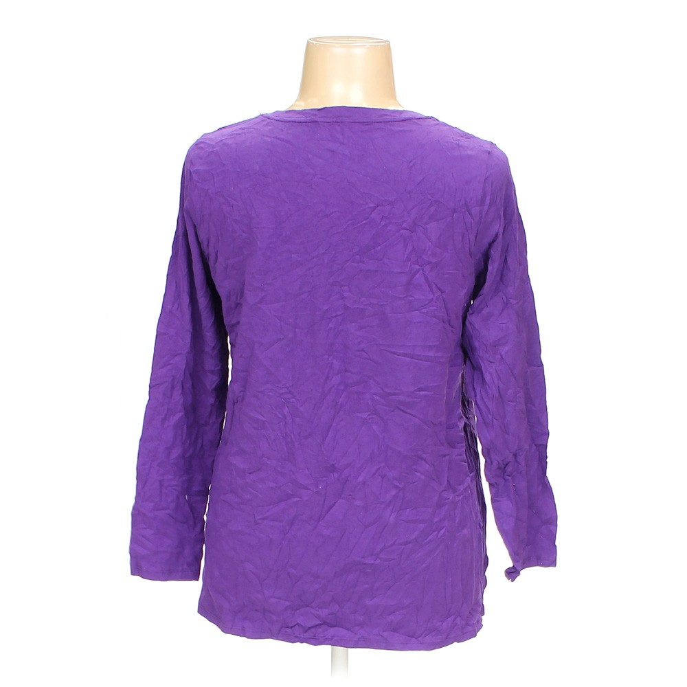 Purple Just My Size Shirt In Size 1X At Up To 95% Off