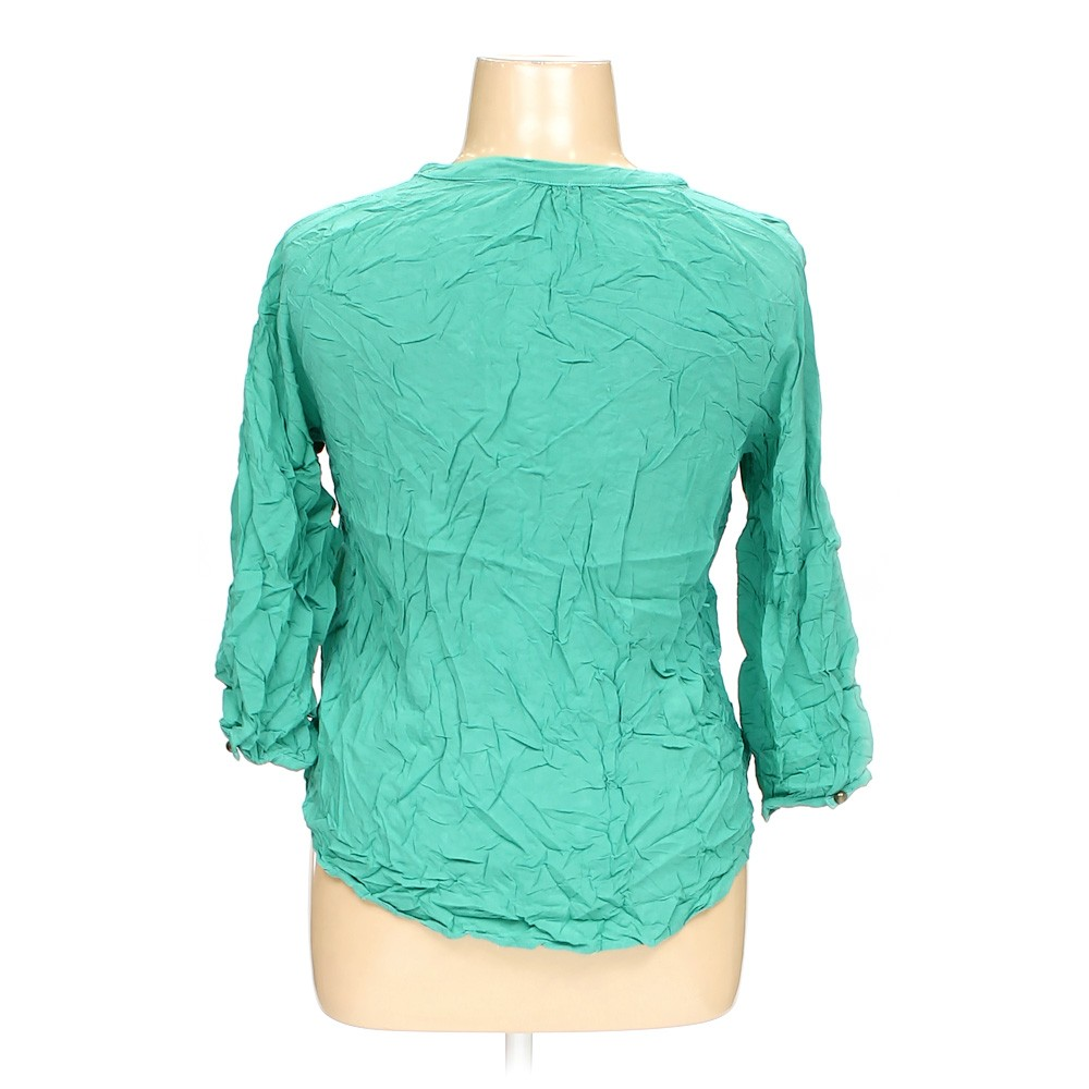 Turquoise love notes shirt in size xl at up to 95 off for Love notes brand shirt