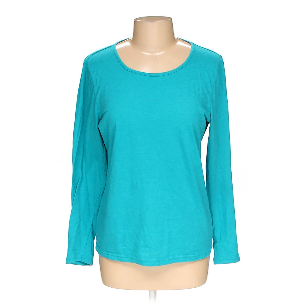 Turquoise magellan sportwear shirt in size l at up to 95 for Magellan women s fishing shirts