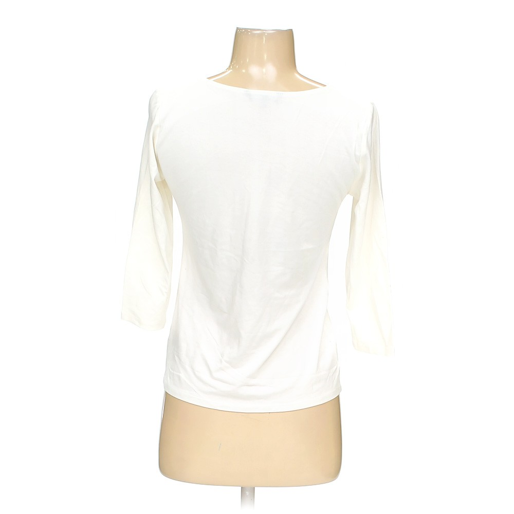 White nic zoe shirt in size s at up to 95 off for How to hand wash white shirt