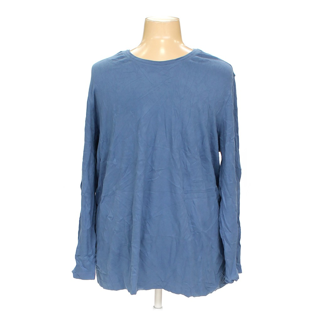 Blue navy westbound woman shirt in size 3x at up to 95 for 3x shirts on sale