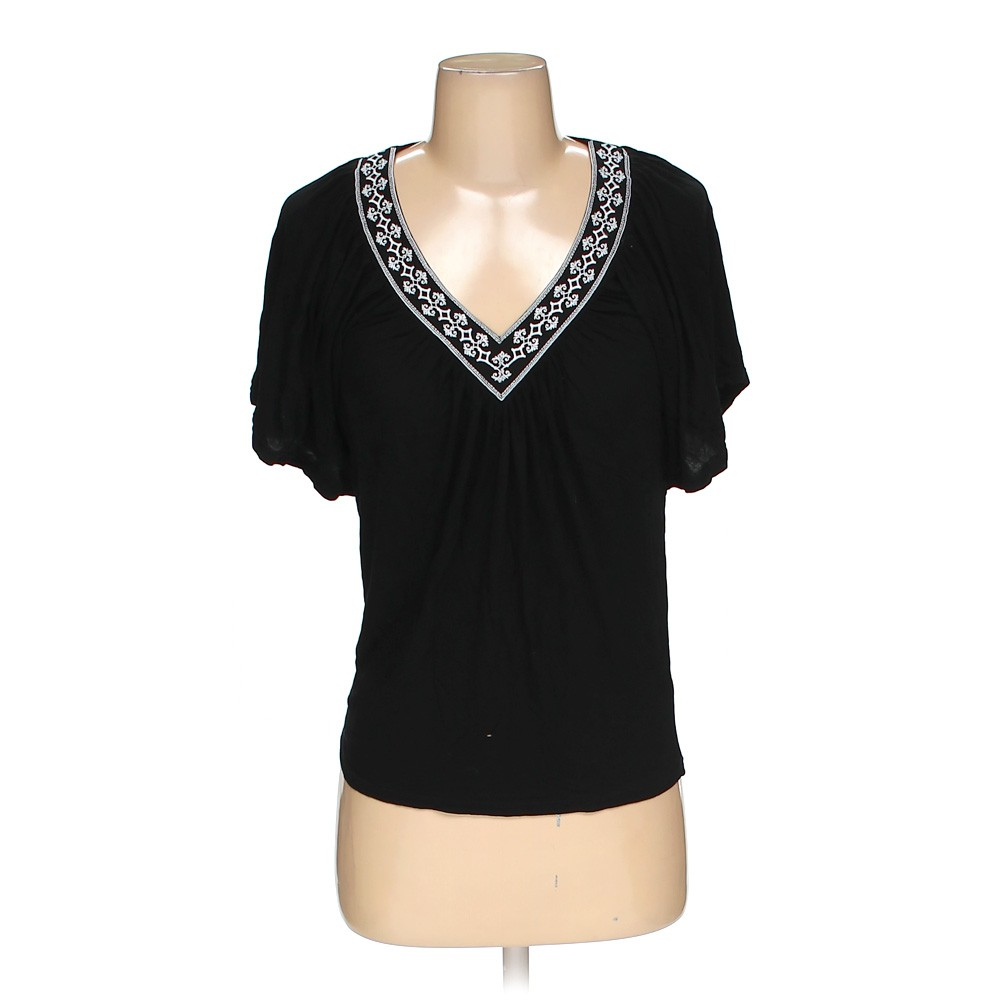 Black white house black market shirt in size xxs at up to for How to hand wash white shirt