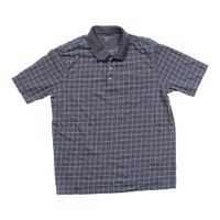 Grey croft barrow short sleeve polo shirt in size xl at for Croft and barrow womens polo shirts