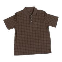 Brown croft barrow short sleeve polo shirt in size m at for Croft and barrow womens polo shirts