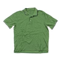 Green croft barrow short sleeve polo shirt in size xl at for Croft and barrow womens polo shirts