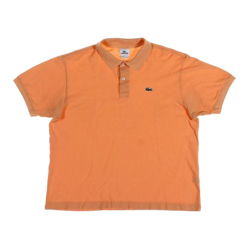 Orange lacoste short sleeve polo shirt in size 2xl at up for Lacoste big and tall polo shirts