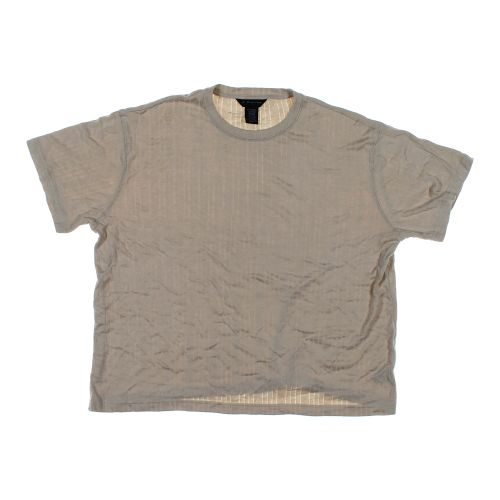 Beige J Ferrar Short Sleeve Shirt In Size 2xl At Up To 95