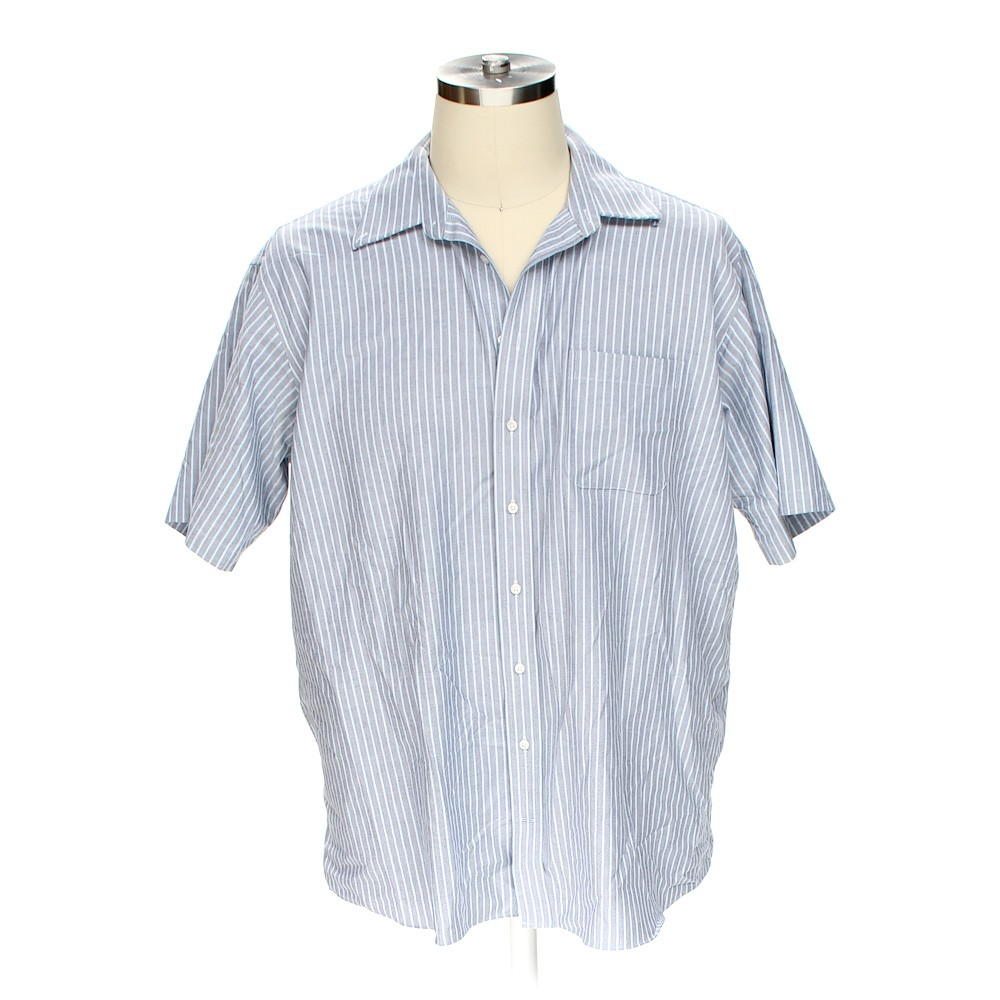 Stafford short sleeve shirt in size xl at up to 95 off for Stafford white short sleeve dress shirts