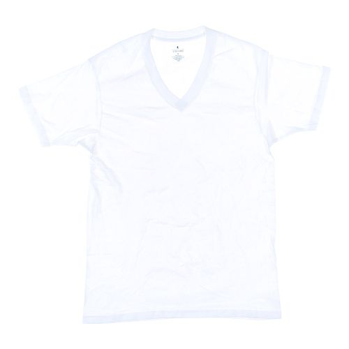 White stafford short sleeve shirt in size m at up to 95 for Stafford white short sleeve dress shirts