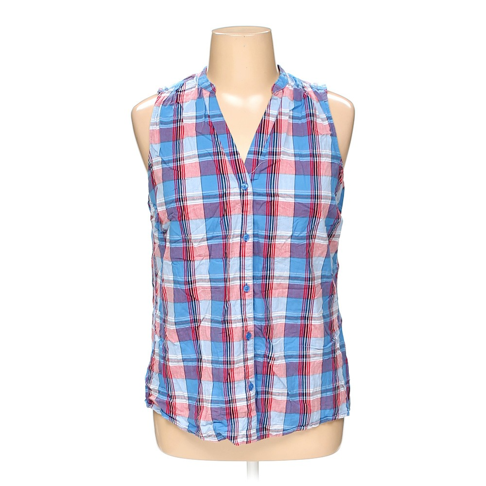 Faded Glory Sleeveless Top In Size 16 At Up To 95 Off